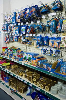 Spielzeug für Nager und Vögel bei Bommers